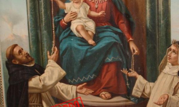 Breve storia della Solennità della Beata Vergine del Rosario